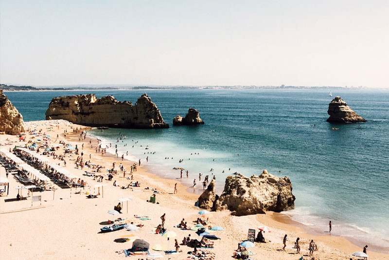 Furnas beach